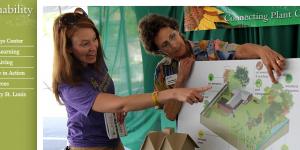 Missouri sustainability website screenshot